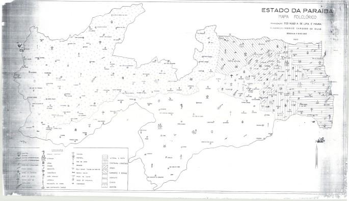 03. Mapa Folclórico da Paraíba (1969)