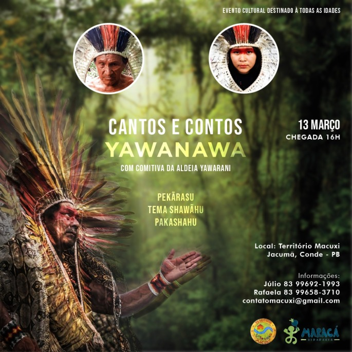 cantos e contos yawanawa